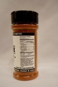 DSBBQ Mamas Nutrition and Ingredient Label pic